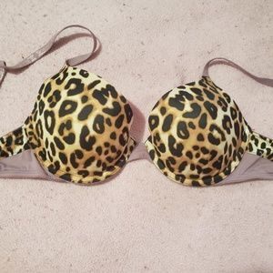 Cheeta print bra